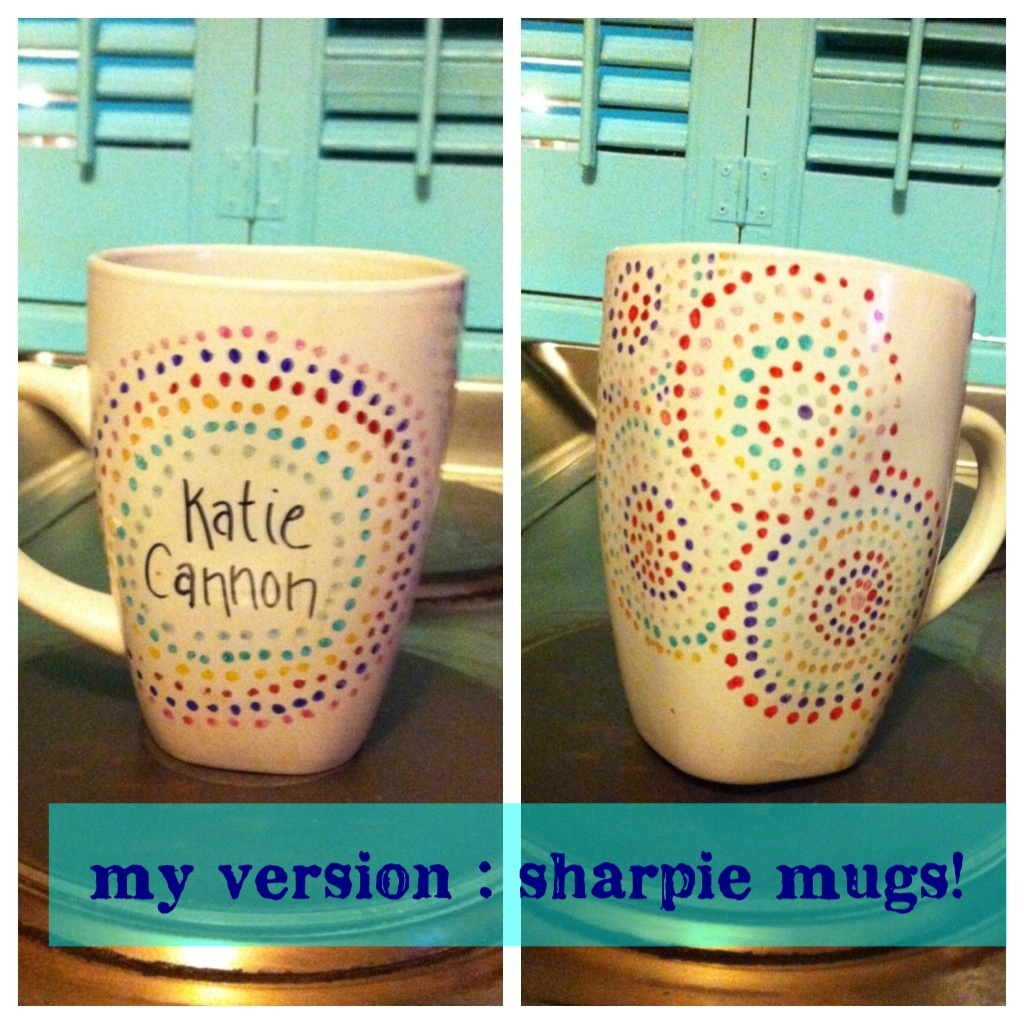 thanksgiving craft sharpie mugs welcome to katie 39 s party