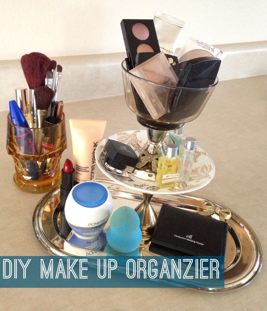 Cute Idea Diy Tiered Makeup Organizer Welcome To Katie S Party